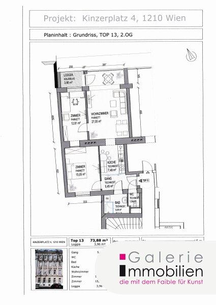 Kinzerplatz 4 - Traumhafte Altbauwohnung mit Loggia in generalsaniertem Gründerzeithaus Objekt_31645