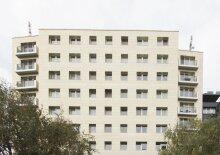 Moderne Neubau-Wohnung mit kleinem Balkon direkt am Modenapark