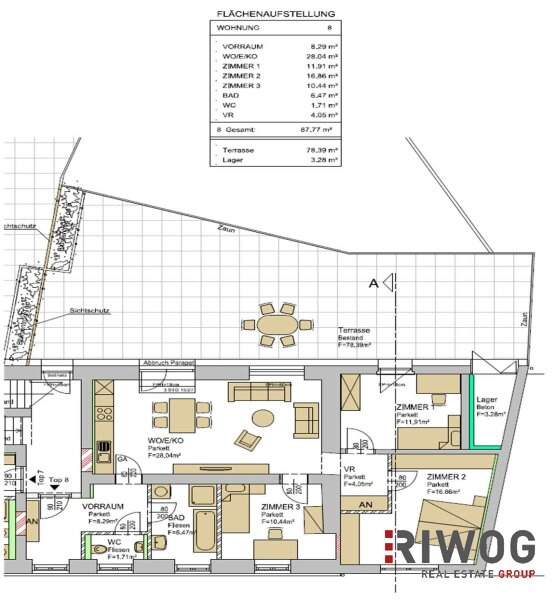 !! Generalsaniertes Zinshaus in Gleisdorf mit 5% Rendite !! /  / 8200Gleisdorf / Bild 8