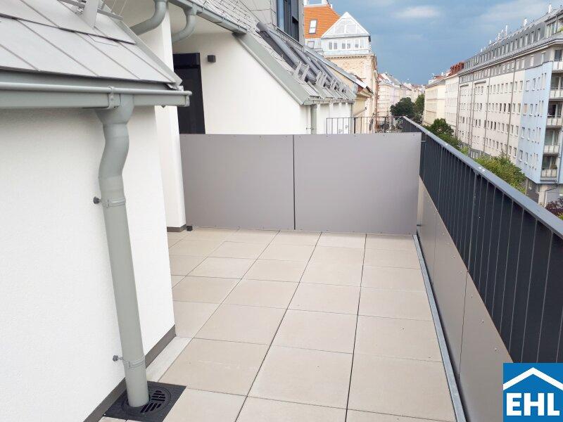 ERSTBEZUG: Top 2 Zimmer Dachgeschoßwohnung mit Balkon im Herzen Margaretens mit verpflichtender Parkplatzanmietung /  / 1050Wien / Bild 5