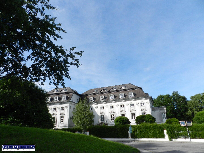 ... und das Schloss Traunegg