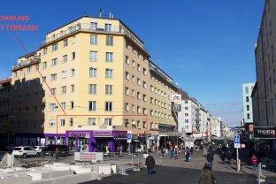 UNIKAT!    Direkt am REUMANNPLATZ 165 m² + Südost-Terrasse +18 m²