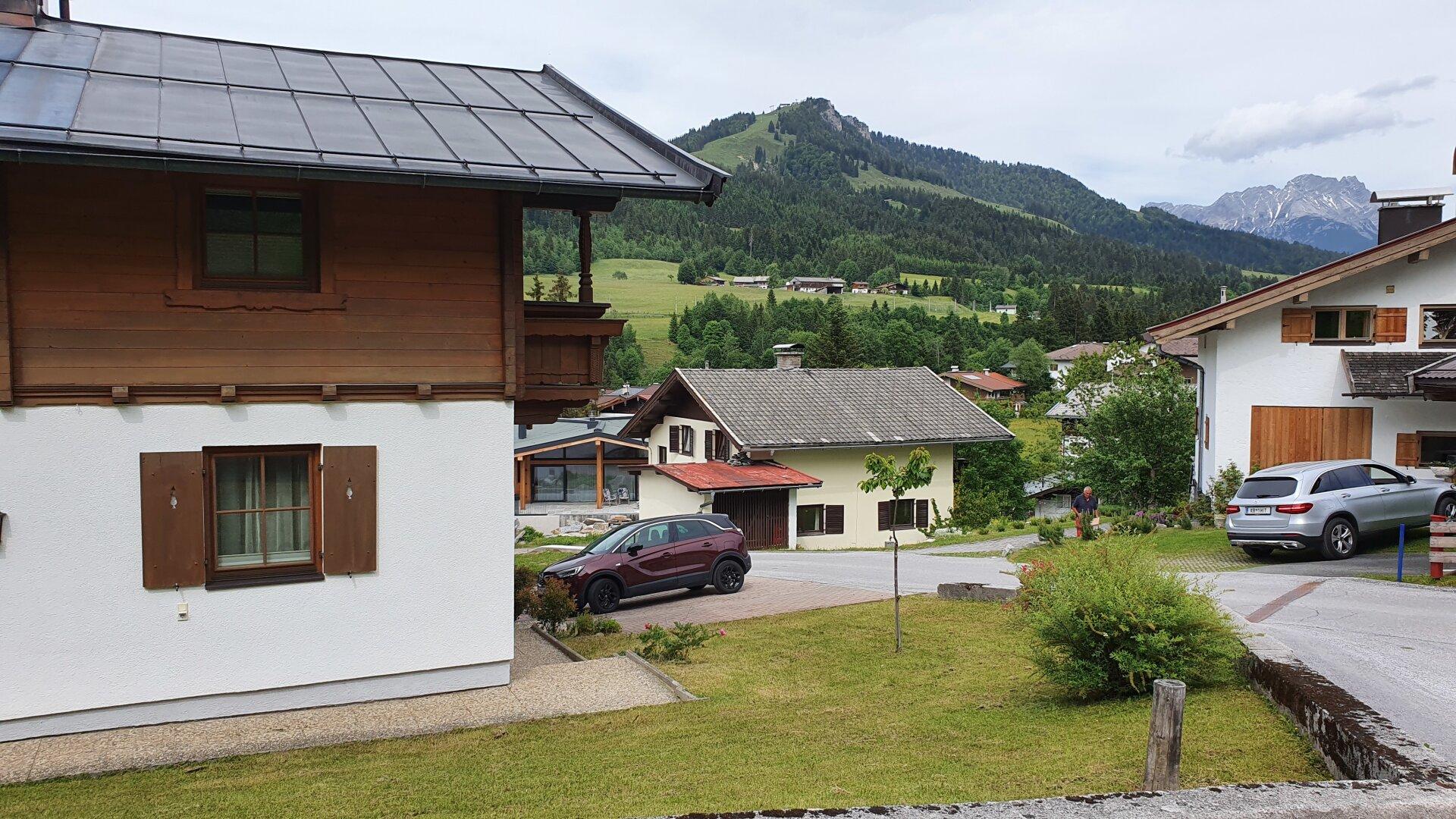 Ansicht/Ausblick von Südwesten, Einfamilienhaus Fieberbrunn