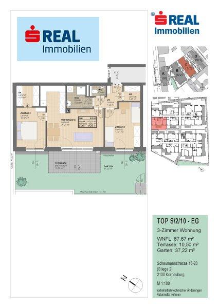 Top-Neubau-Eigentumswohnungen im Zentrum von Korneuburg - Provision bezahlt der Abgeber /  / 2100Korneuburg / Bild 5