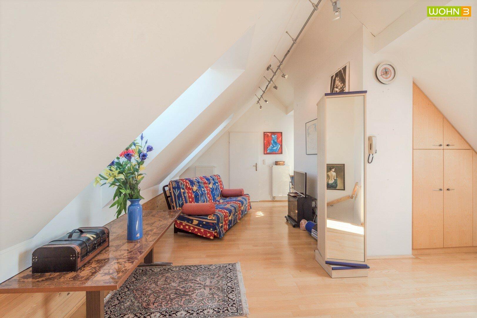 Galerie - Wohnbereich