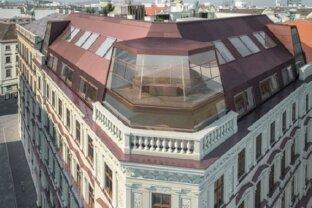Luxusdachgeschosswohnung