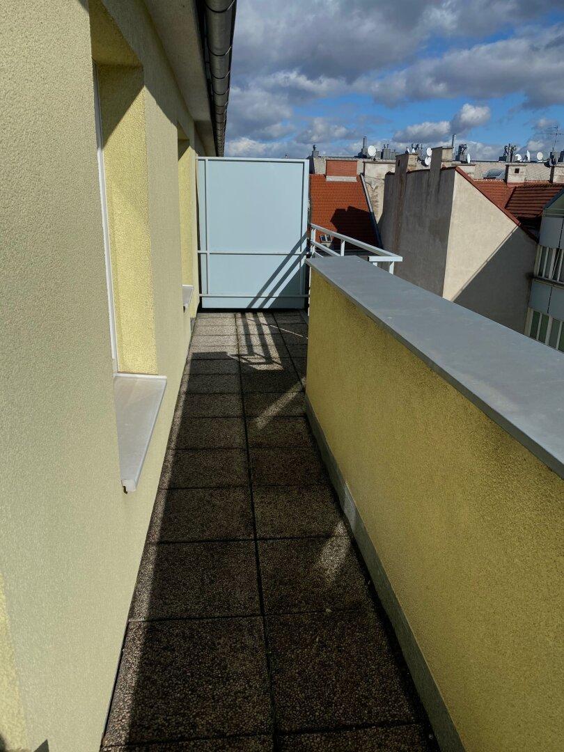 Balkon mit Ausblick