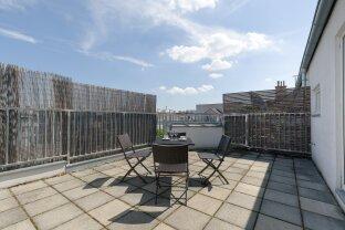 3 Zimmer Dachgeschosswohnung mit Dachterrasse!