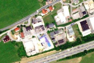 Lagerplätze in Eugendorf zu vermieten: 30 oder 50 m², € 10,--/m² inkl. USt., Strom; abschließbar, Chipsystem, Videoüberwachung!