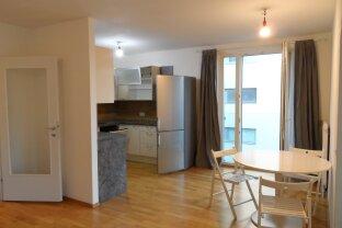 VERMITTELT : Möblierte 2-Zimmer mit großer Loggia / Terrasse nahe Donauzentrum - Kagran U1 !