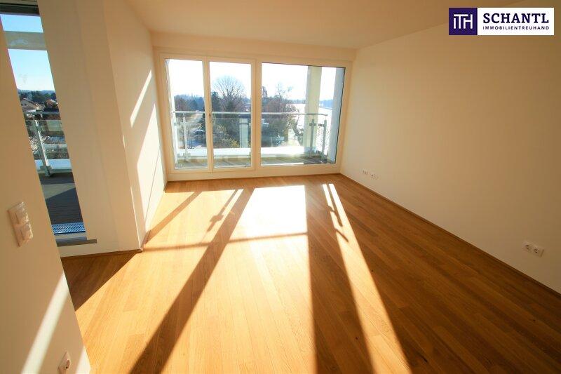 Zu Hause im Urlaub! Erstbezug im Dachgeschoss auf zwei Ebenen mit 4 Terrassen! Provisionsfrei!!! /  / 1220Wien / Bild 2