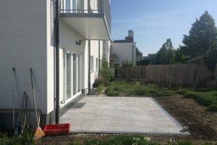 Gartenwohnung 97m² mit 198m² Garten in Gerasdorf bei Wien, 4 Zimmer 2 Garagenplätze