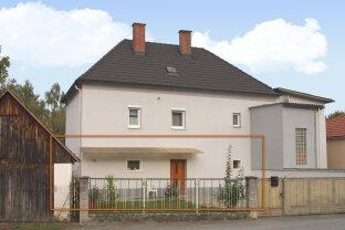 Nähe Großpetersdorf: Erdgeschoßwohnung mit Garten im Zweifamilienwohnhaus!