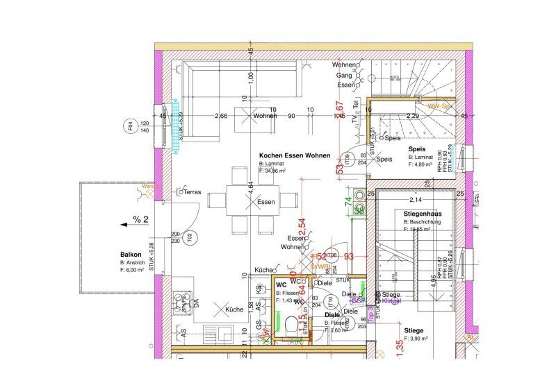 3-Zimmer Maisonetten Wohnung /  / 2202Enzersfeld im Weinviertel / Bild 7