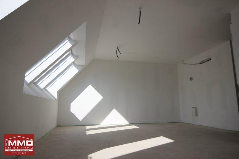 *^* Wunderschöne helle Dachgeschossmaisonette inklusive Weitblick und ruhiger Terrasse, nach eigenen Wünschen und Ideen fertigstellen *^* /  / 1140Wien / Bild 9