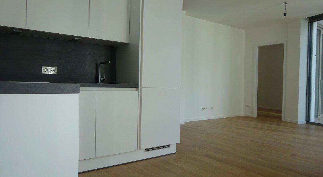 Exklusive 2-Zimmer Wohnung mit Balkon - Zentrumsnaher Erstbbezug