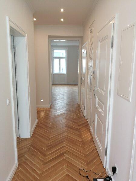 ERSTBEZUG - 4 Zimmer ALTBAU top saniert - 1030 Wien - 3. OG Top 17 ------ U Bahn Nähe - LOGGIA  - Schlafzimmer Hofseitig /  / 1030Wien / Bild 7