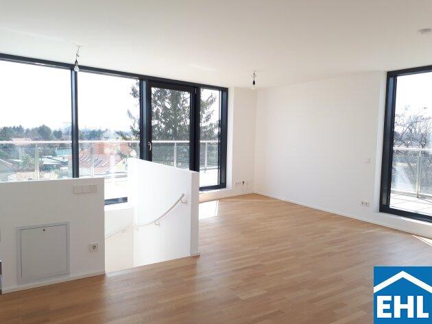 Top Maisonette-Wohnung mit großzügiger Dachterrasse Nähe Donauzentrum