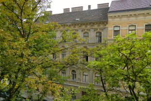 Garconniere: in ruhiger Wohnstraße und dennoch mitten im Leben