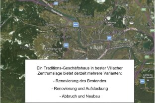 Villach - Investment in 1A-Innenstadtlage
