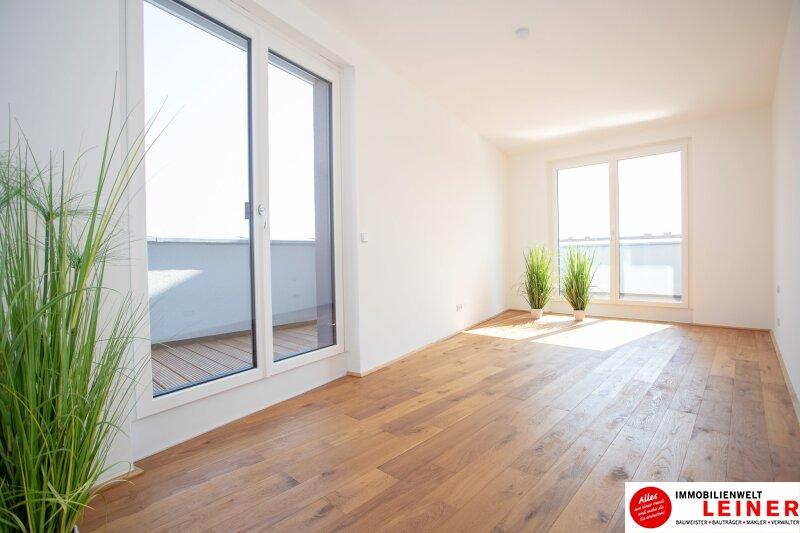 100 m² PENTHOUSE *UNBEFRISTET*BARRIEREFREI*Schwechat - 3 Zimmer Penthouse im Erstbezug mit 54 m² großer südseitiger Terrasse Objekt_9404 Bild_438
