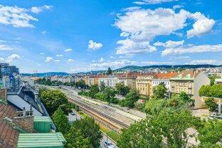 UP-LIFTING: Urbaner Dachgeschoss-Traum mit zwei Terrassen und 360° Blick über Wien!