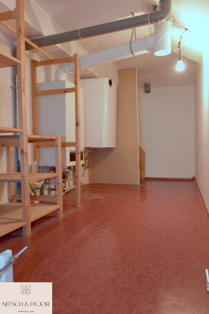 Dachboden mit zusätzlichem Stauraum