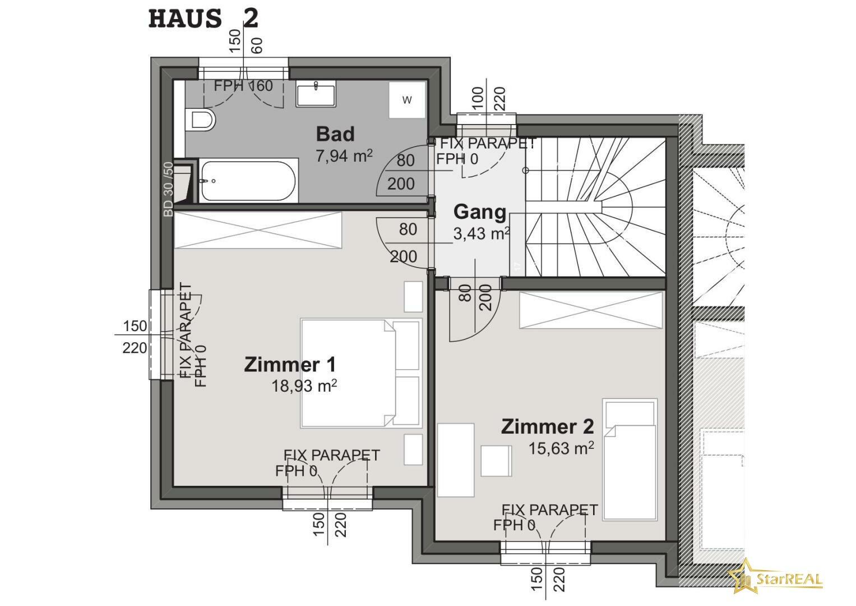 HAUS 2 Obergeschoss
