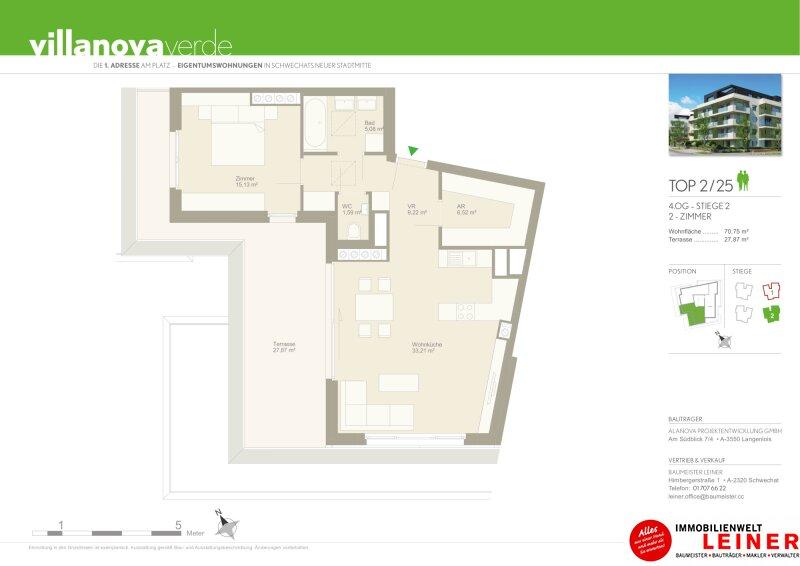 Penthouse Eigentumswohnung am Alanovaplatz in Schwechat an der Grenze zu Wien Objekt_13905 Bild_182