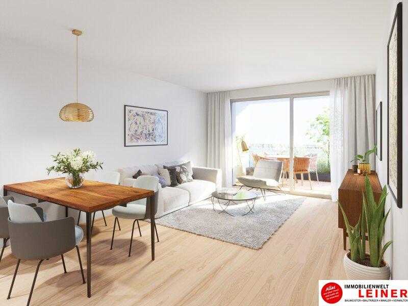 Eine Wohnung auf die alle abfahren! Eigentumswohnung mit 17,88m² sonniger Terrasse - ohne Provision - 3 Zimmer Objekt_14055