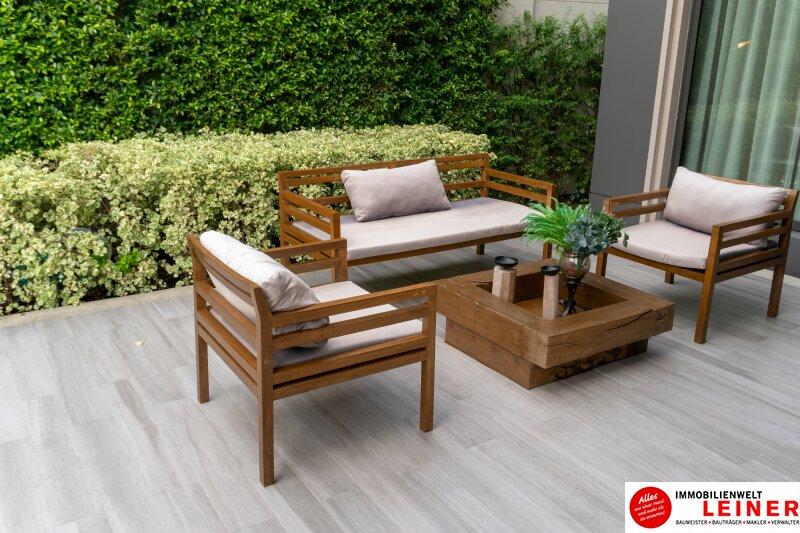 Provisionsfreie, traumhafte 4 Zimmer Gartenwohnung mit 150m² grüner Flächen Objekt_13309