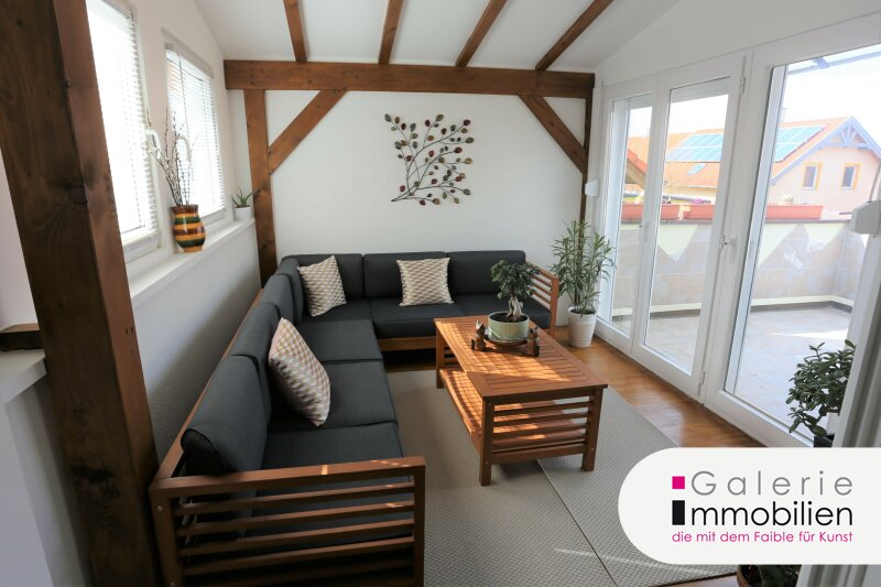 Zauberhafte DG-Wohnung mit Wintergarten und großer Terrasse Objekt_34364