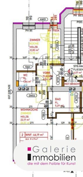 Erstklassige sonnige 2-Zimmer-Wohnung mit Parkplatz und Garten Objekt_34129 Bild_333