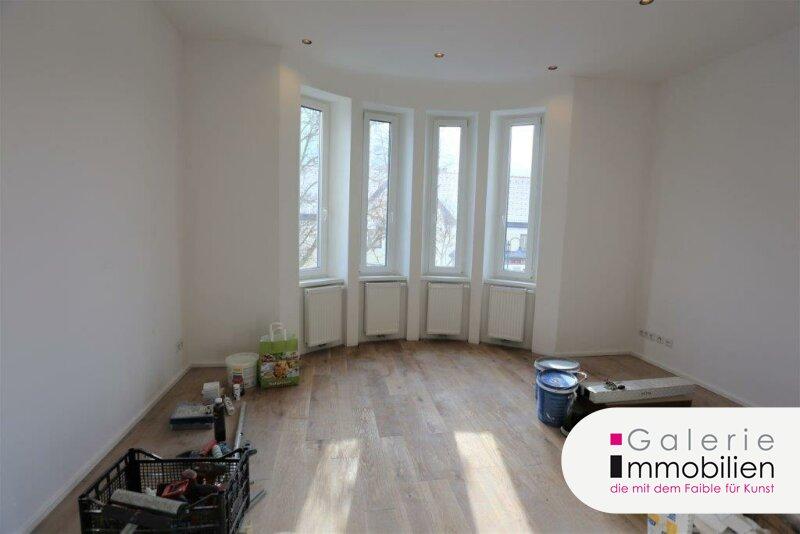 Herzige 1-Zimmer-Wohnung mit Erker und Küche inkl. Garten und Parkplatz Objekt_34130