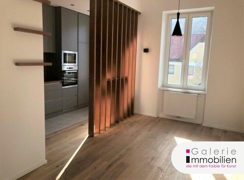 Hochwertige sonnige 2-Zimmer-Wohnung mit Eigengarten und Parkplatz - Grünblick Objekt_34437