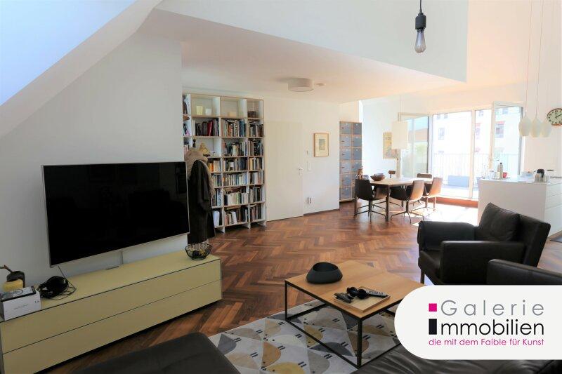 Atemberaubende sonnige DG-Wohnung mit Terrasse auf Wohnebene Objekt_34453