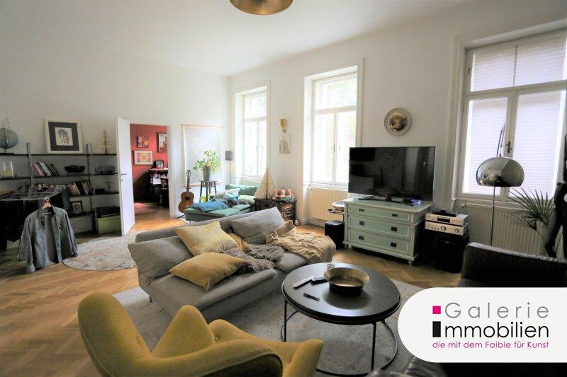 Ruhig und Grünblick - Leben in traumhaft schönem Stilaltbau mit großem Gemeinschaftsgarten Objekt_34455