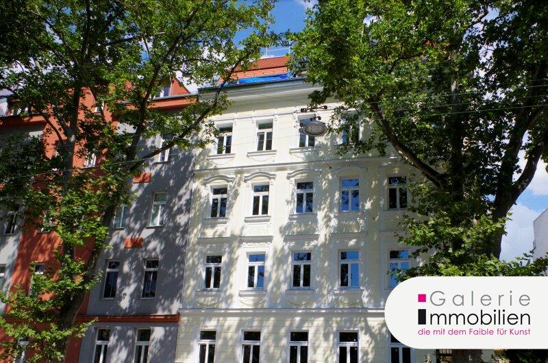 Sanierte gartenseitige Altbauwohnung mit Loggia in generalsaniertem Gründerzeithaus am Kinzerplatz 4 Objekt_34169