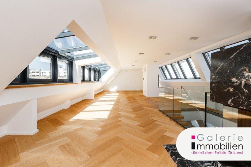 Traumhafte Maisonette mit großen Terrassen - Erstbezug beim Rochusmarkt Objekt_34100