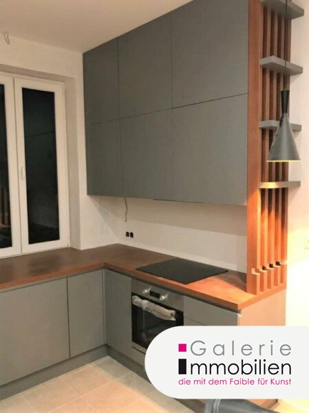 Herzige 1-Zimmer-Wohnung mit Erker und Küche inkl. Garten und Parkplatz Objekt_34130 Bild_338