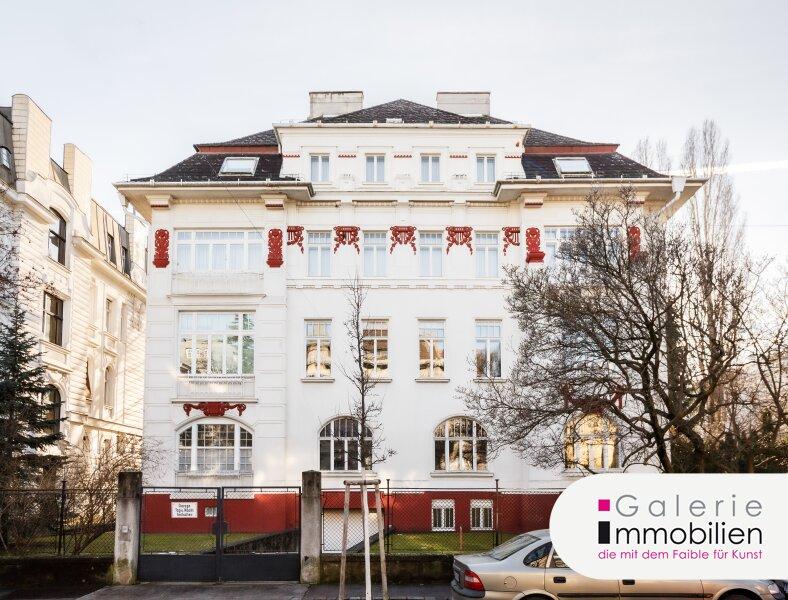 Rarität - Außergewöhnliche Jahrhundertwendevilla mit Garten und Garage an Toplage Objekt_34115