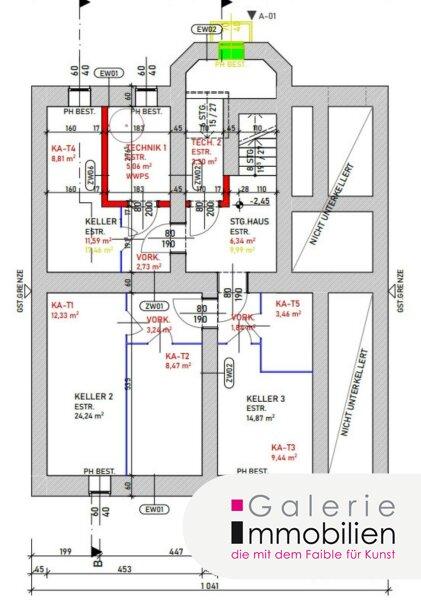 Erstklassige sonnige 2-Zimmer-Wohnung mit Parkplatz und Garten Objekt_34129 Bild_335