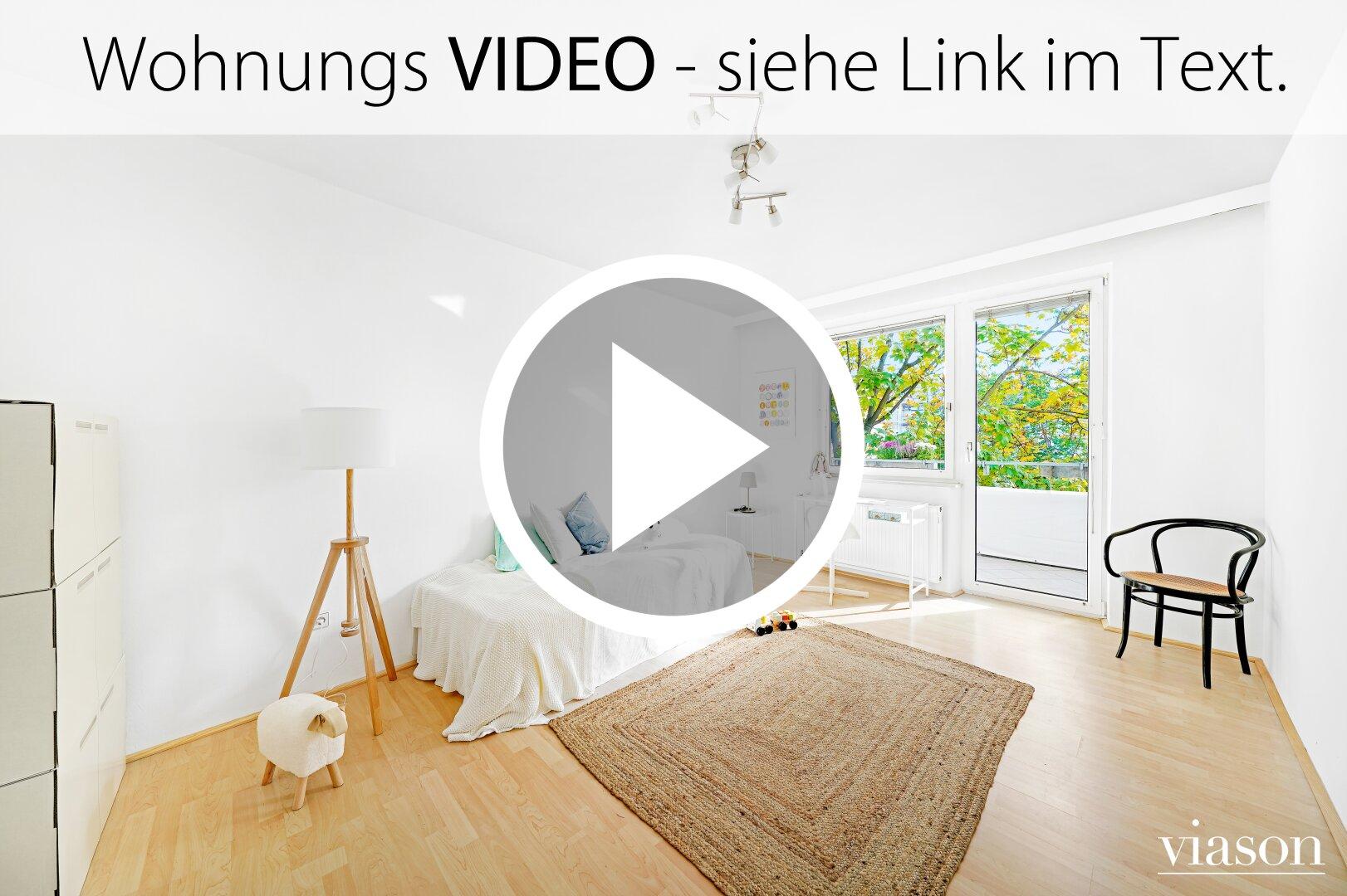 Wohnungs VIDEO siehe Link im Text