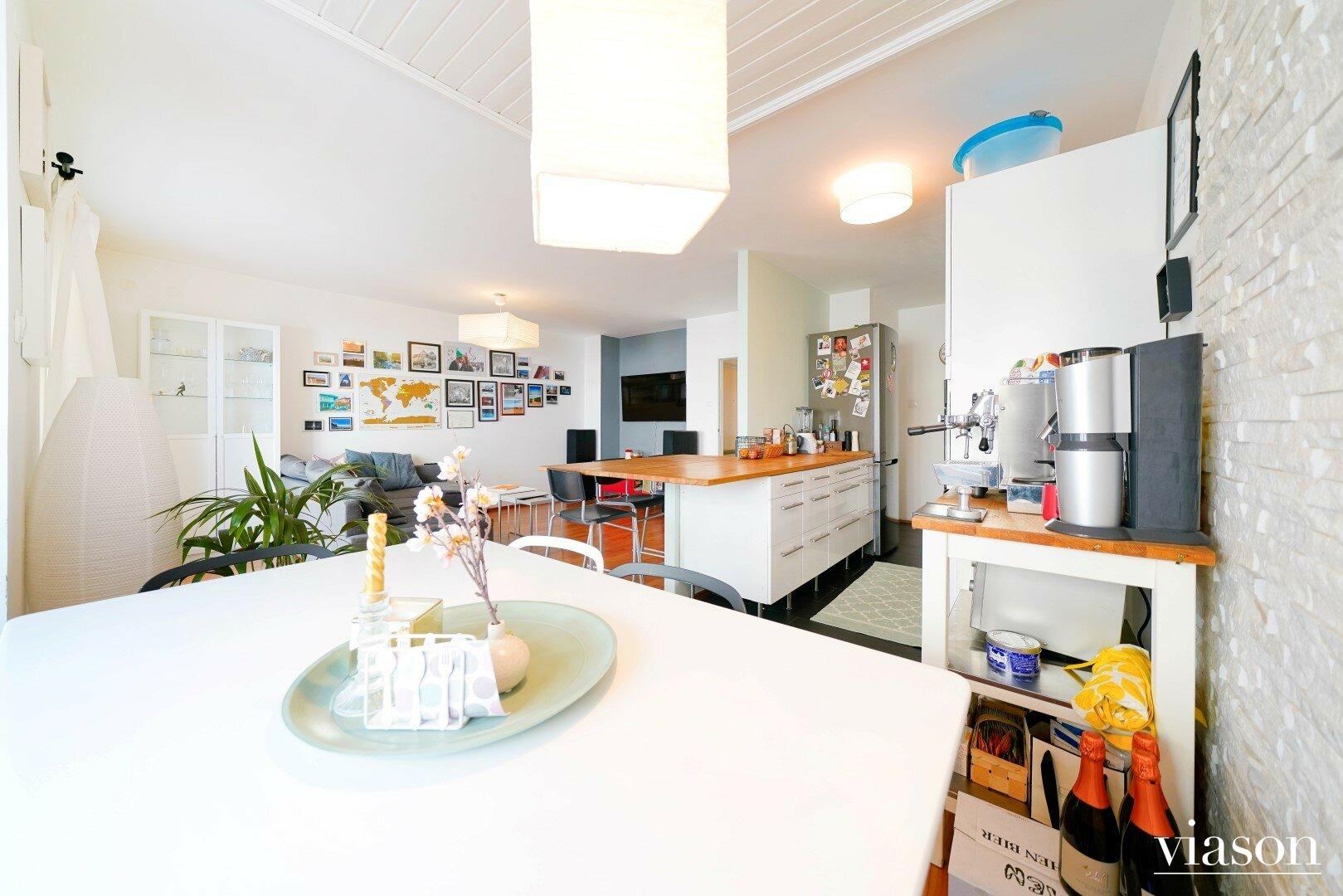 Küchen - Wohnzimmerbereich