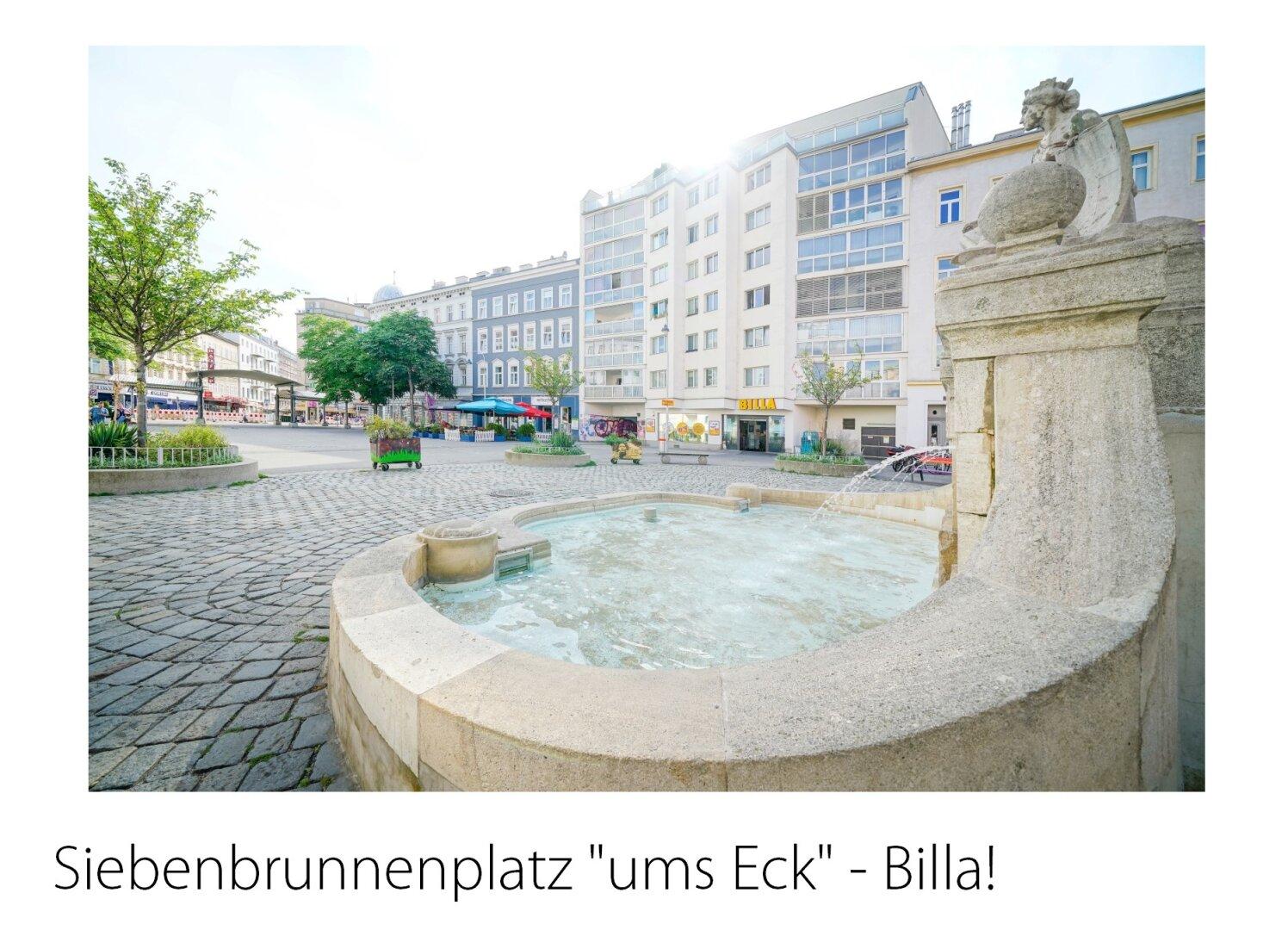 Nahe Siebenbrunnenplatz