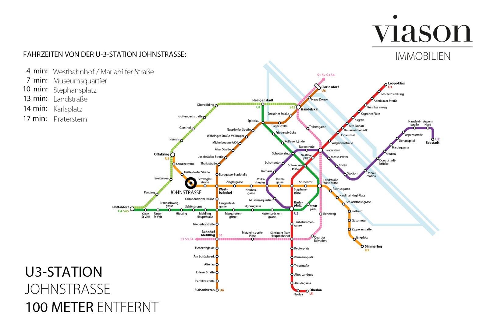 U Bahn Anbindung