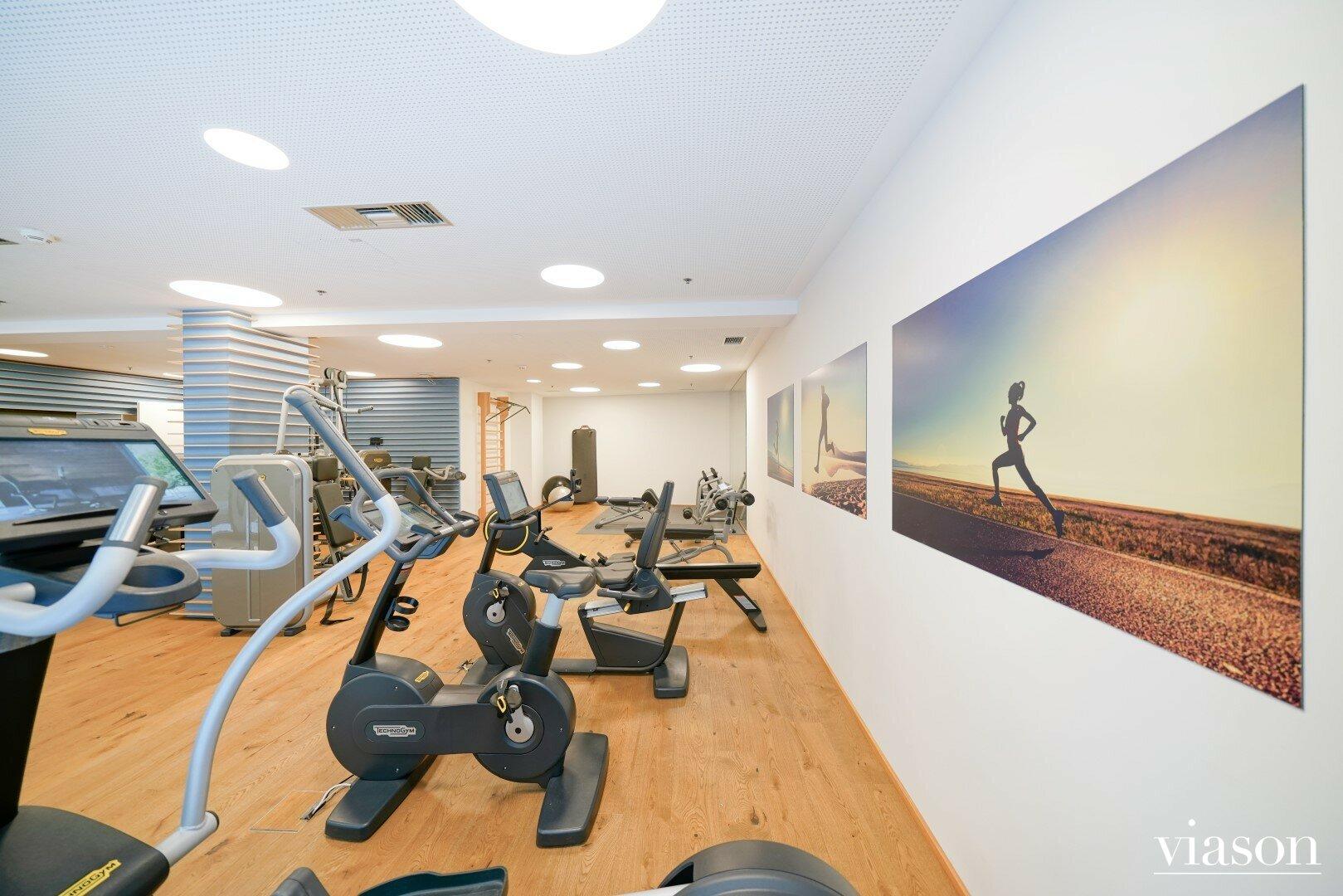Fitnessraum im Haus