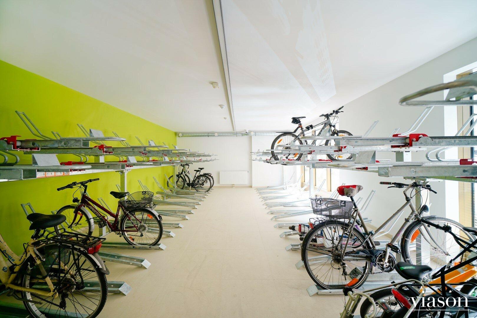 Fahrradraum im Haus