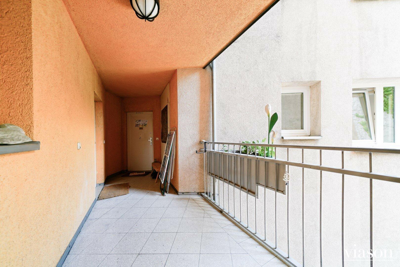 Zugang Eingangsbereich