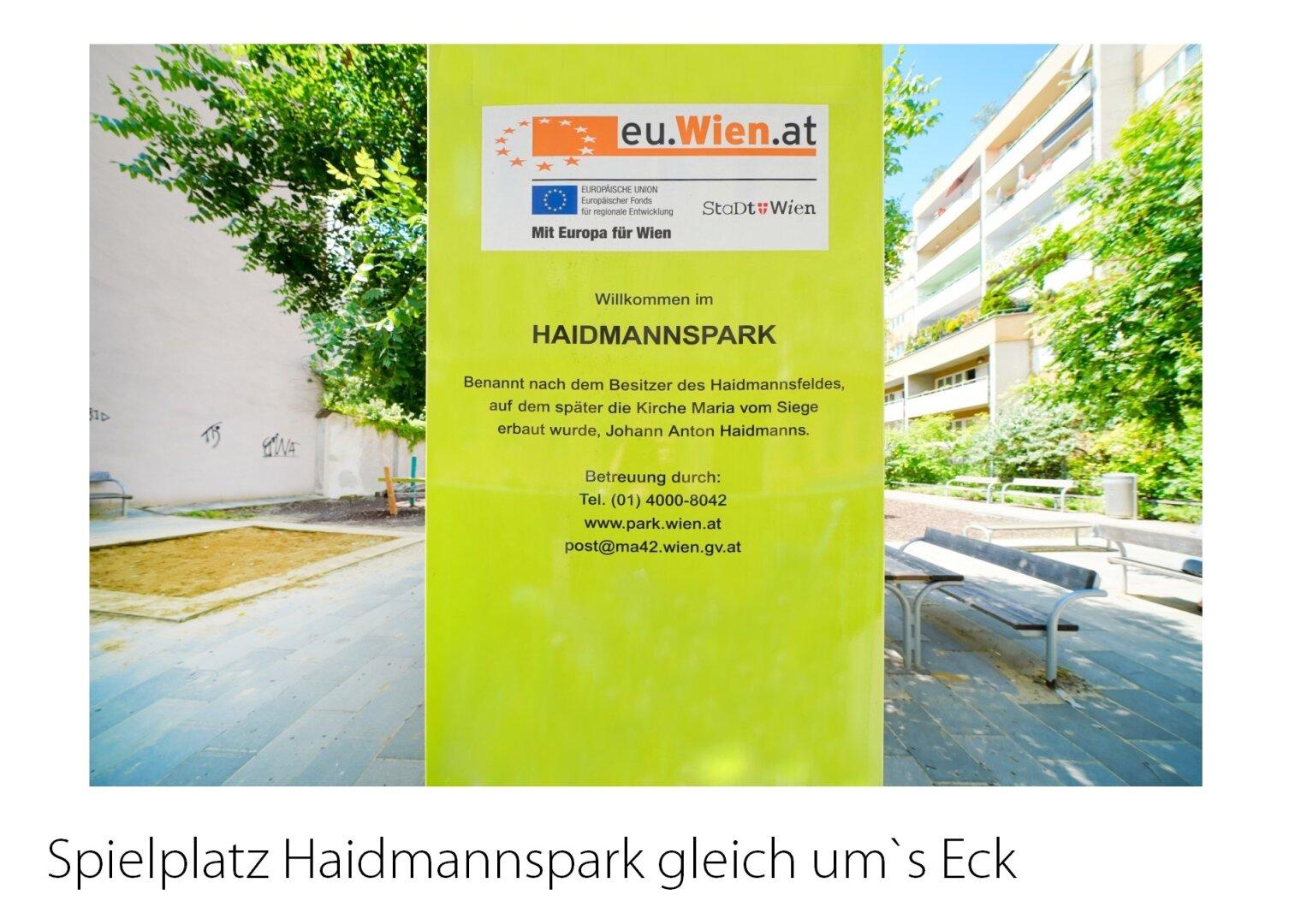 Kinderspielplatz Haidmannspark